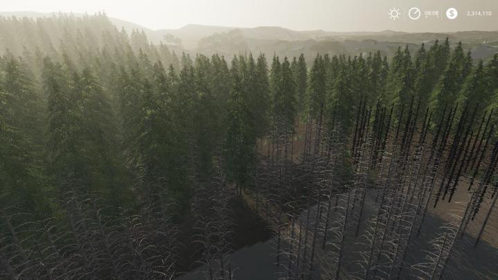 FS19 - Hagenstedt Forest Map V1 | Simulator Games Mods Download