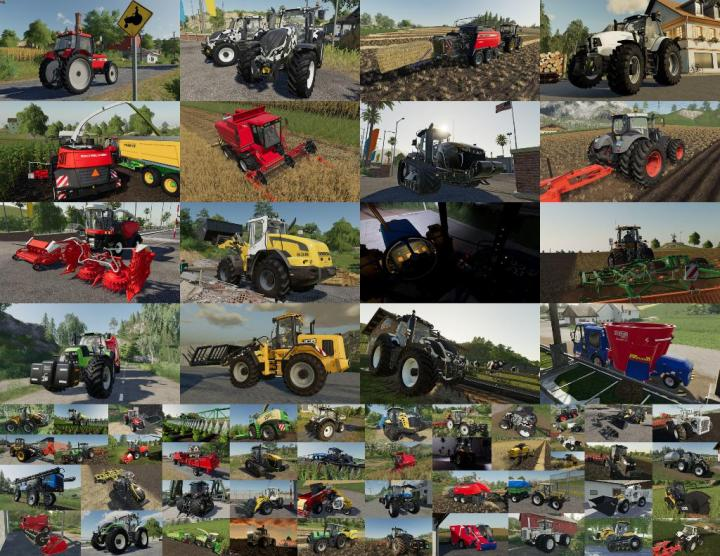 FS19 - Mods Pack V1 0 0 1 | Simulator Games Mods Download