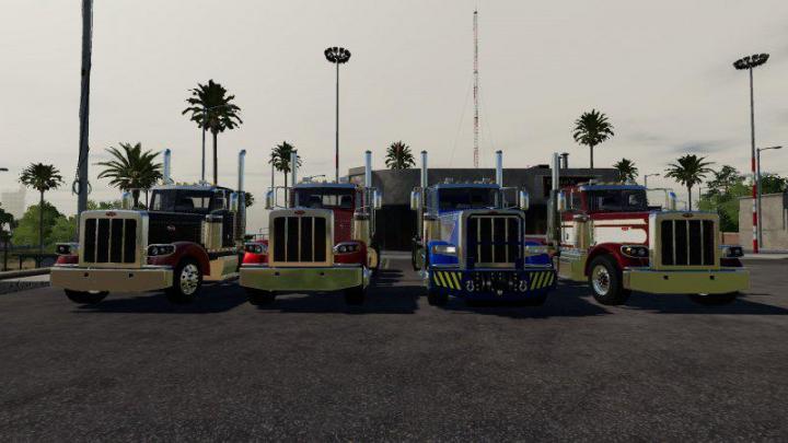 FS19 - Peterbilt 389 V1 1 | Simulator Games Mods Download