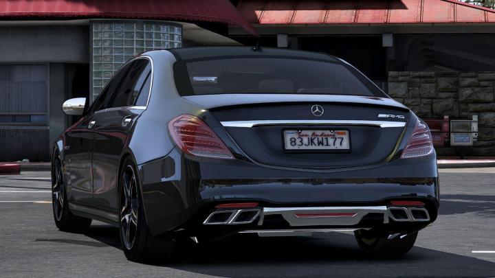 Car Stickers Com >> ETS2 - 2018 Mercedes Benz S63 Amg (1.35.x) - Simulator ...