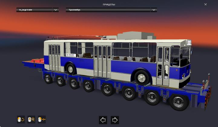 ETS2 - Pack Trailers Heavy Cargo For Russian Open Spaces V5