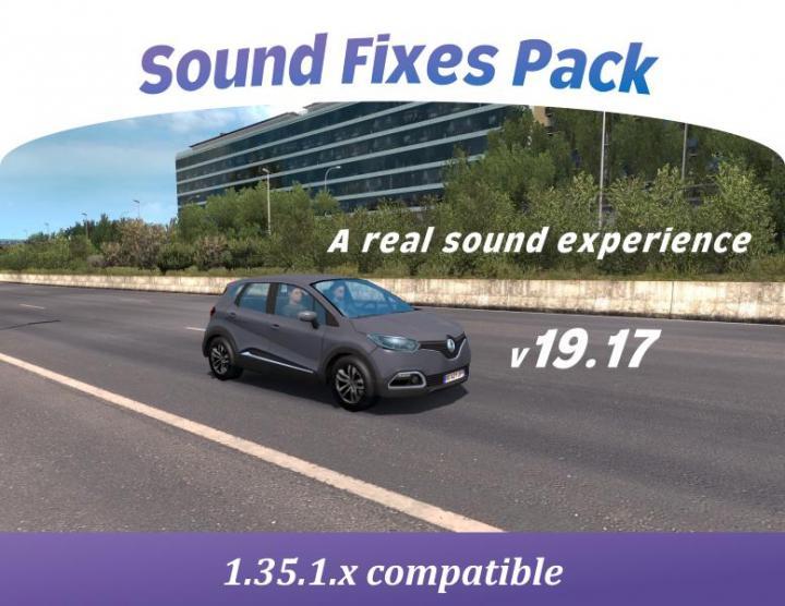 ETS2 - Sound Fixes Pack V19 17 (1 35 x) | Simulator Games