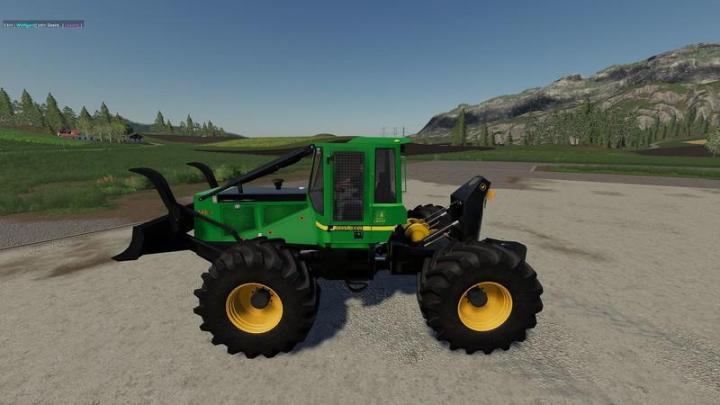 FS19 - John Deere Giii Skidder V1 0 1 6   Simulator Games
