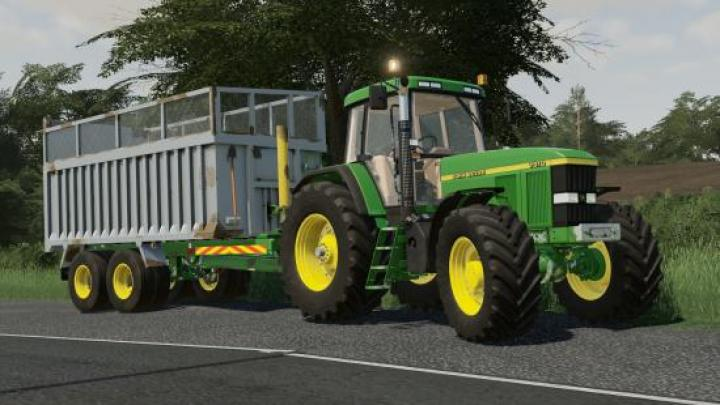 FS19 - Old Style Grain And Silage Trailer V1 0 | Simulator Games