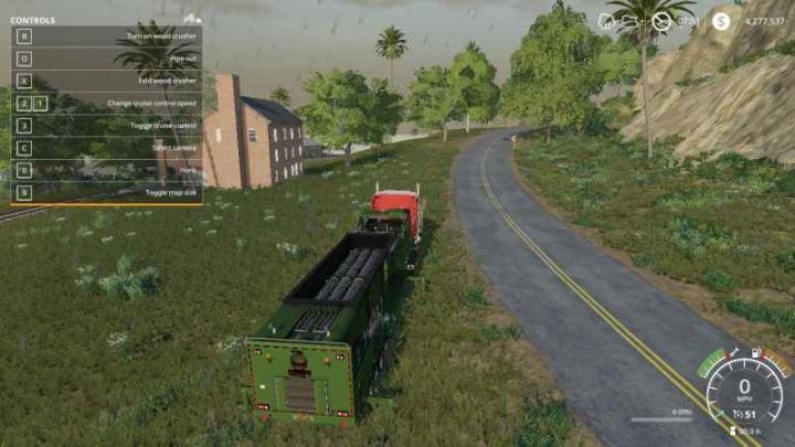FS19 - The Beast Chipper V1   Simulator Games Mods Download