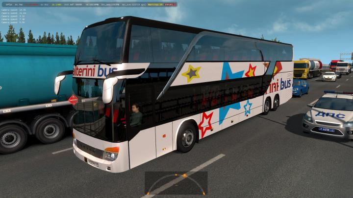 ETS2 - Buses Of Argentinean Companies In Traffic (1 35 x