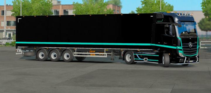 ETS2 - Combo Power Actros Skin (1 35 x) | Simulator Games