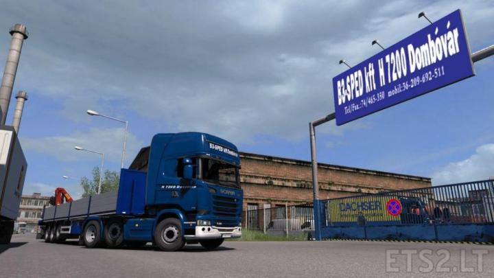 ETS2 - Hungary Map Addons V2 1 (1 35 x) | Simulator Games Mods Download