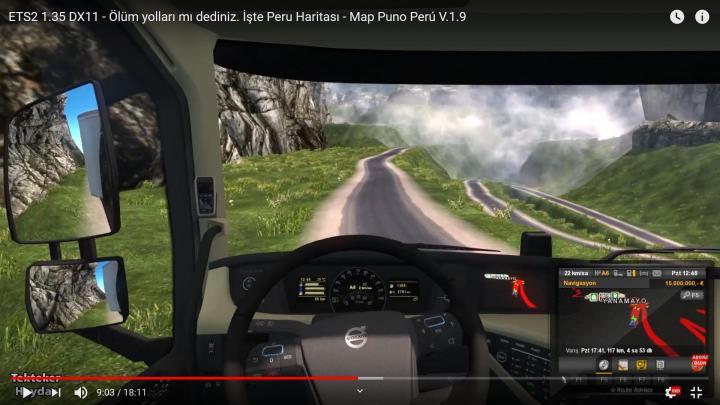 ETS2 - Puno Peru Map V1 9 Dx11 (1 35 x) | Simulator Games