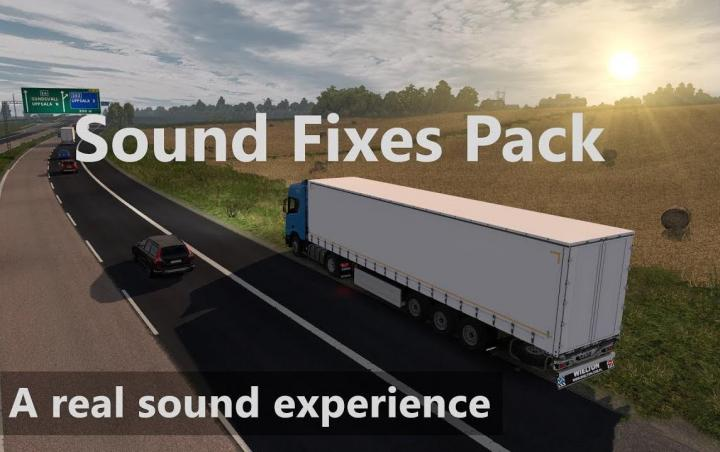 ETS2 - Sound Fixes Package V19 29 (1 35 x) | Simulator Games