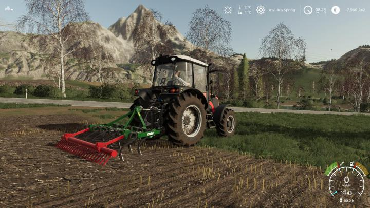 FS19 - Aguilar 11 Brazos Cultivator V1 | Simulator Games