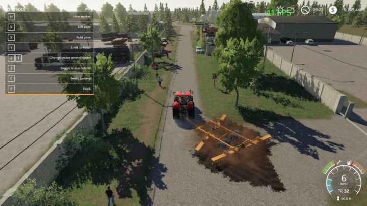 FS19 - Case Ih Plow V1 | Simulator Games Mods Download