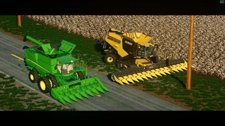 FS19 - Claas Lexion Harvester V1 | Simulator Games Mods Download