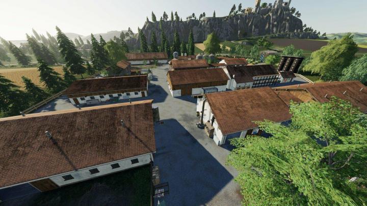 FS19 - Felsbrunn Modding Welt Edition Map V1 | Simulator Games Mods