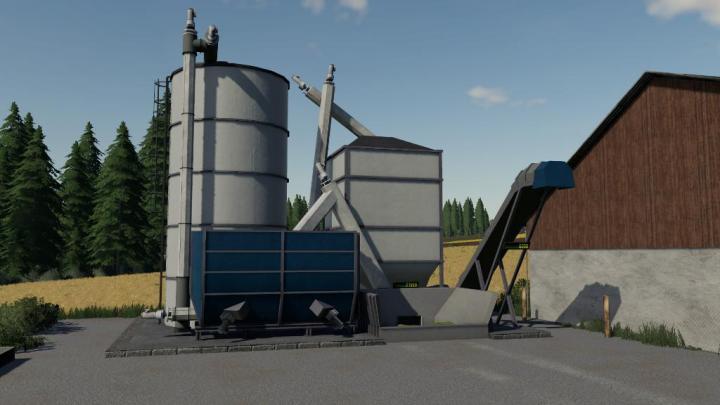FS19 - Globalcompany - Fermenting Silo V1 | Simulator Games Mods
