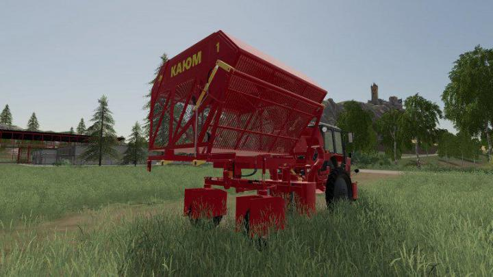 Fs19 Harvester Mtz 80xm For Cotton Release V1