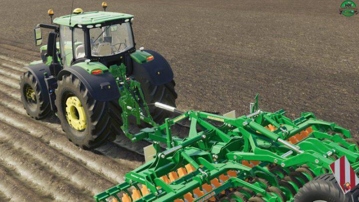 FS19 - John Deere 6R V1 1 | Simulator Games Mods Download