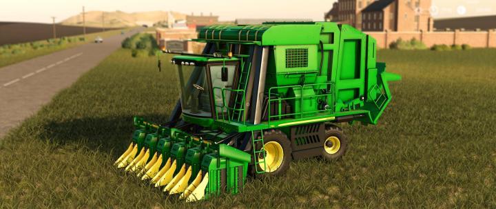 FS19 - John Deere 7760 Cotton Baler V1 1 | Simulator Games Mods Download