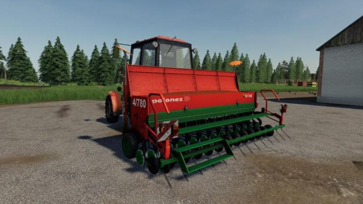 FS19 - Unia Polonez 4/780D V1 | Simulator Games Mods Download