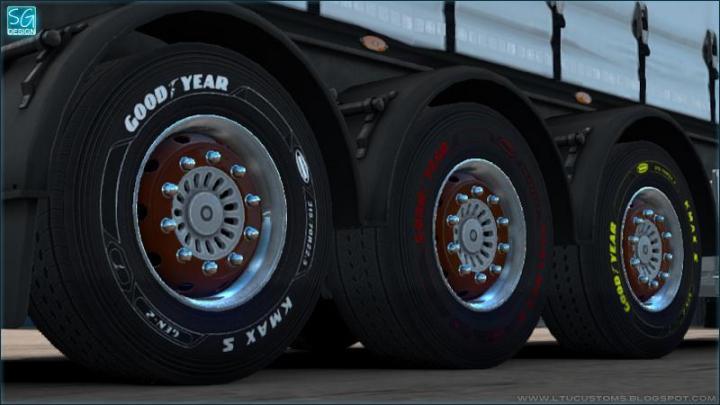 ETS2 - Goodyear Dlc Trailer Tires V1 (1 35 x) | Simulator