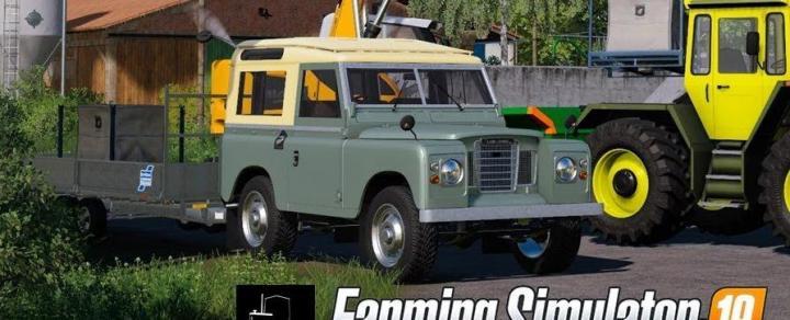 FS19 - Land Rover Defender 110 Station Wagon 2011 V1
