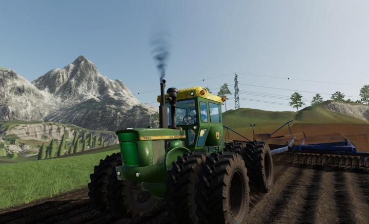 Car Simulator Games >> FS19 - Old Iron John Deere 7020-7520 V1 | Simulator Games Mods Download