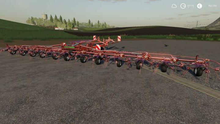 FS19 - Poett Hit 12-14 Nerd Mp V1 | Simulator Games Mods