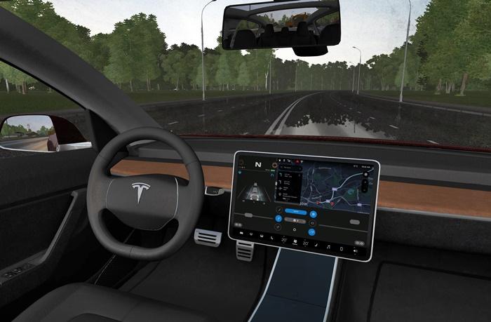 City Car Driving 1.5.8 - 2018 Tesla Model 3 Car Mod ...