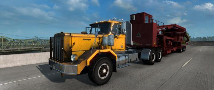 Volvo Truck Dealer >> ATS - Autocar Dc + Template (1.36.x) | Simulator Games ...