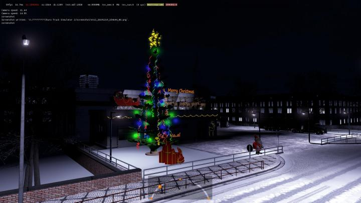 Ets2 Truck Service Christmas Edition V1 1 36 X