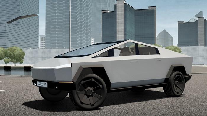 City Car Driving 1.5.9 - Tesla Cybertruck 2021 Car Mod ...