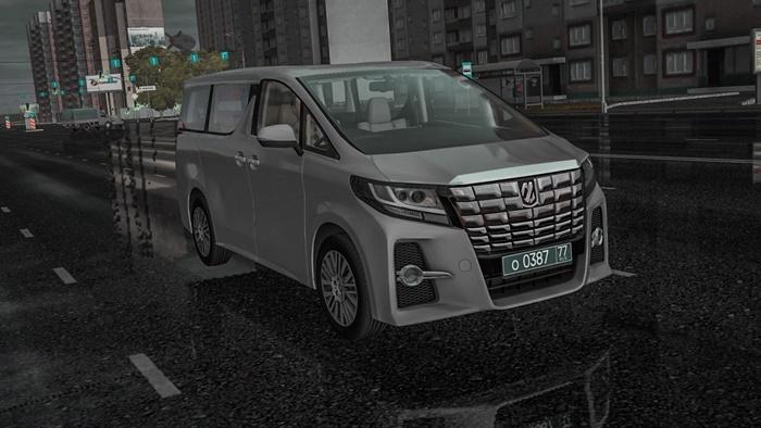 City Car Driving 1 5 9 Toyota Alphard 2015 Car Mod Simulator Games Mods